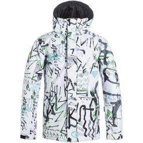 Boy's Mission Printed Snow Jacket
